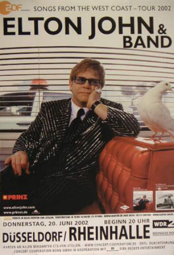 Elton John Ballad Of The Boy In The Red Shoes